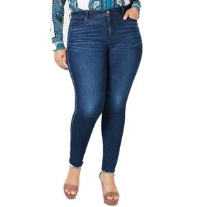 INC International Concepts Side-Stripe Skinny Jean